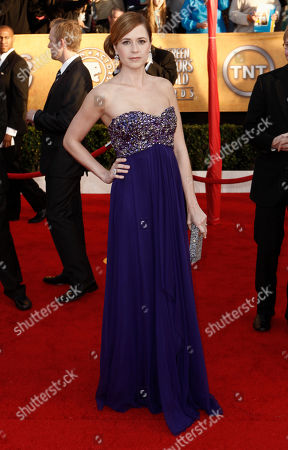 Jenna Fisher Jenna Fisher arrives at the 16th Annual Screen Actors Guild Awards, in Los Angeles