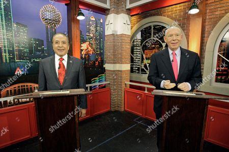 Farouk Shami, Bill White Democratic gubernatorial businessman Farouk Shami, left, and former Houston Mayor Bill White in Fort Worth, Texas