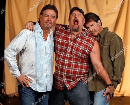 Bill Engval, Jeff Foxworthy, Larry the Cable Guy Blue Collar comedians Bill Engvall, left, Larry the Cable Guy, center, and Jeff Foxworthy are shown on in Nashville, Tenn