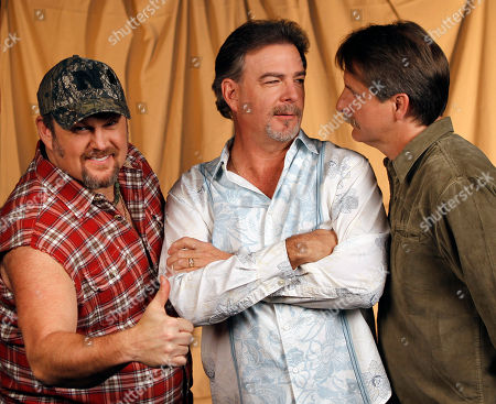 Bill Engval, Jeff Foxworthy, Larry the Cable Guy Blue Collar comedians from left, Larry the Cable Guy, Bill Engvall and Jeff Foxworthy are shown in Nashville, Tenn