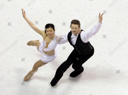 Elizabeth Chan, Jason Deveikis Elizabeth Chan and Jason Deveikis perform their ice dancing free dance routine at the U.S. Figure Skating Championships in Spokane, Wash