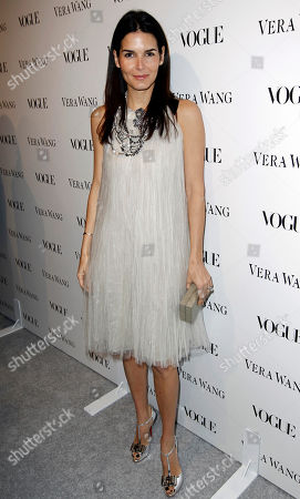 Stock Image of Angie Harmon Angie Harmon arrives at the Vogue Magazine dinner celebrating the launch of the Vera Wang store on Melrose in West Hollywood, Calif. on