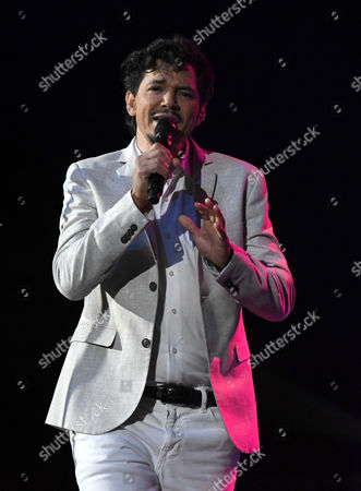 Editorial photo of El DeBarge in concert, Pompano Beach, Florida, USA - 15 Oct 2016