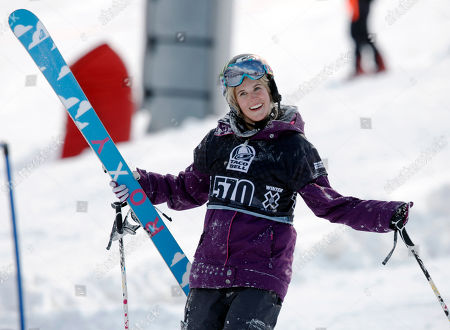 Sarah Burke Sarah Burke of Canada, reacts after failing to place in the top three finishers in the slopestyle skiing women's final at the Winter X Games at Buttermilk Mountain outside Aspen, Colo., on