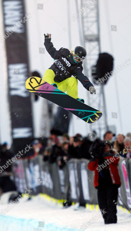 Gretchen Bleiler Gretchen Bleiler of Aspen, Colo., competes during the snowboard superpipe women's elimination round during the Winter X Games at Buttermilk Mountain outside Aspen, Colo., on