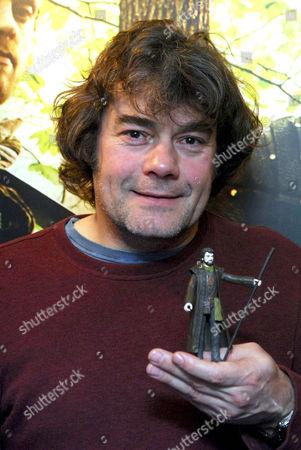 Gordon Kennedy promoting the Robin Hood toy range