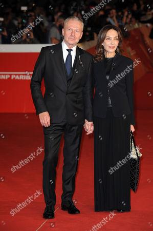 Stock Photo of Boguslaw Linda and Maria Rosaria Omaggio