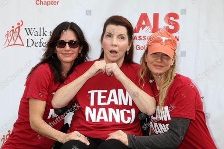Courteney Cox, Nanci Ryder, Renee Zellweger