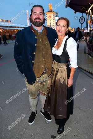 Stock Picture of Philip Schulz-Deyle, wife Michelle