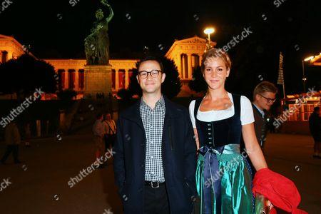 Stock Picture of Joseph Gordon-Levitt, Florine Elena Deplazes