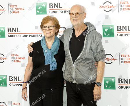 Deborah Lipstadt and Mick Jackson