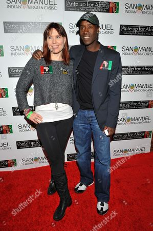 Don Cheadle, Annie Duke Actor Don Cheadle and professional poker player Annie Duke attend the 2nd Annual Ante Up for Africa poker tournament to benefit Darfur at San Manuel Indian Bingo & Casino in Highland, California on October 29th, 2009