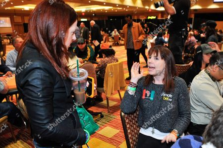 Annie Duke, Brandon Trentham Professional poker player Annie Duke plays at the 2nd Annual Ante Up for Africa poker tournament to benefit Darfur at San Manuel Indian Bingo & Casino in Highland, California on October 29th, 2009
