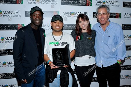 Editorial photo of 2nd Annual Ante Up for Africa Tournament, Highland, USA