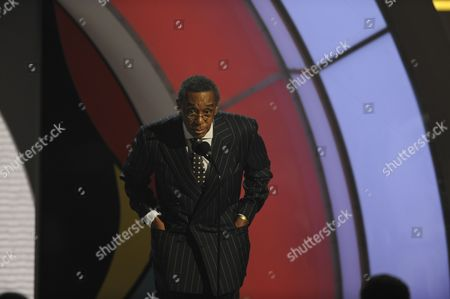 Don Cornelius Don Cornelius onstage at the 9th Annual BET Awards, in Los Angeles
