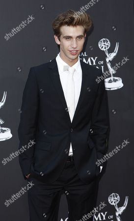 Blake Berris Blake Berris arrives at the Daytime Emmy Awards, in Los Angeles