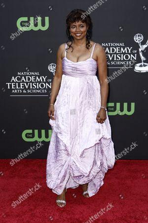Debbi Morgan Debbi Morgan arrives at the Daytime Emmy Awards, in Los Angeles