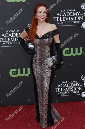 Brenda Dickson Brenda Dickson arrives at the Daytime Emmy Awards, in Los Angeles