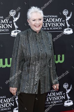 Susan Flannery Susan Flannery arrives at the Daytime Emmy Awards, in Los Angeles