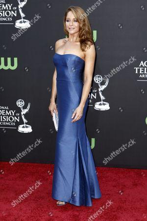 Jamie Luner Jamie Luner arrives at the Daytime Emmy Awards, in Los Angeles