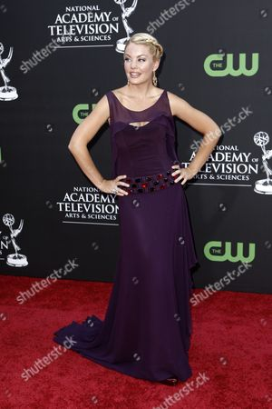 Bree Williamson Bree Williamson arrives at the Daytime Emmy Awards, in Los Angeles