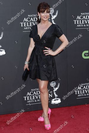 Julie Pinson Julie Pinson arrives at the Daytime Emmy Awards, in Los Angeles