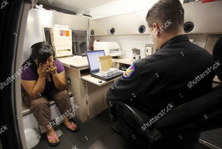 James Lawler After reading the rights to an alleged extreme DUI suspect, Phoenix Police Department Officer James Lawler, of the DUI Squad, prepares to administer a blood test as he works out of a mobile DUI processing van in Phoenix. In a decision that defense attorneys said respects the Fourth Amendment, the Arizona Supreme Court ruled Monday that police must get a search warrant to take a blood sample from a DUI suspect unless the person clearly consents to providing a sample