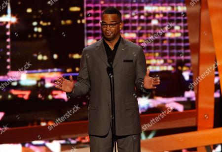 Stuart Scott Stuart Scott on stage at the ESPY Awards, in Los Angeles