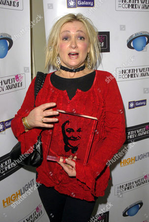 Caroline Aherne, who won the 'Les Dawson Award' wich rewards exceptional services to North West comedy