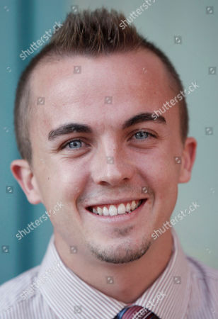 "Stock Image of Frankie Muniz In a photo, Frankie Muniz arrives at the Academy of Television Arts and Sciences' ""A Father's Day Salute to TV Dads"" in the North Hollywood section of Los Angeles. Phoenix police say they removed a gun from the home of actor Frankie Muniz last Friday night, Feb. 11, 2011, after a domestic dispute with his girlfriend. A police report says Elycia Turnbow claims Muniz pulled out a gun and held it against his head after the two were arguing about prior relationships. Muniz's publicist says the actor wasn't arrested, wasn't suicidal and Turnbow wasn't assaulted"