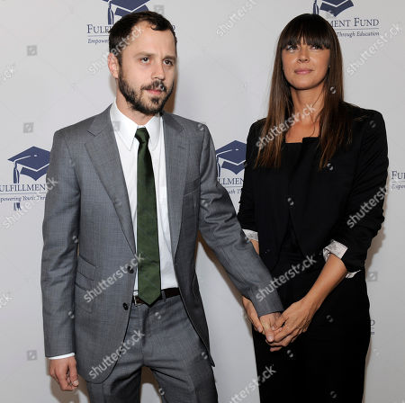 """Giovanni Ribisi, Chan Marshall Giovanni Ribisi and singer Chan Marshall, aka """"Cat Power,"""" arrive at the Fulfillment Fund Stars 2009 Benefit Gala in Beverly Hills, Calif"""