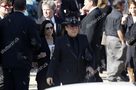 Jose Eber Jose Eber is seen at the conclusion of the funeral of Farrah Fawcett on in Los Angeles