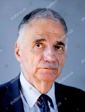 Ralph Nader Ralph Nader is seen in Washington. Nader and consumer groups want the Obama administration to suspend General Motors' initial public stock offering, saying taxpayers could lose billions of dollars in the deal