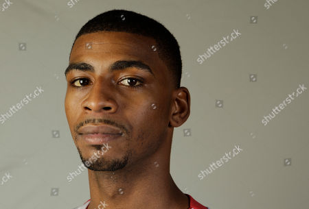 Dorell Wright Miami Heat guard Dorell Wright poses for a photograph at basketball media day in Miami