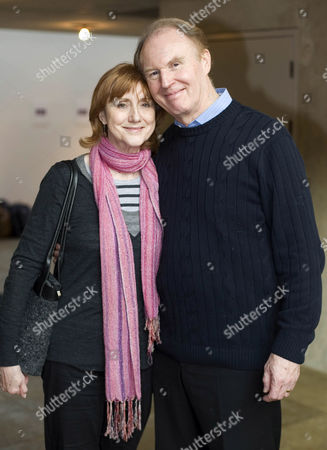 Stock Photo of Pamela Miles and Tim Pigott-Smith
