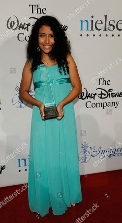 Caitlin Sanchez Actress Caitlin Sanchez arrives for the 24th Annual Imagen Awards in Beverly Hills, Calif