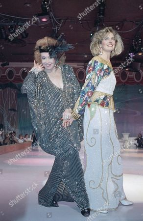 Editorial photo of Jayne Meadows and Marie Bradley, Beverly Hills, USA