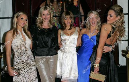 Charlotte Mears, Jadene Bircham, Heather Swan, Elle Isaac and Cassie Sumner