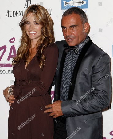 Christian Audigier, Ira Audigier Christian Audigier, right, and Ira Audigier arrive for the Opening Night Gala for KOOZA, the big top touring show from Cirque du Soleil, in Santa Monica, Calif. on