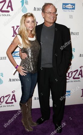 Kelsey Grammer, Camille Donatacci Kelsey Grammer, right, and Camille Donatacci arrive for the Opening Night Gala for KOOZA, the big top touring show from Cirque du Soleil, in Santa Monica, Calif. on