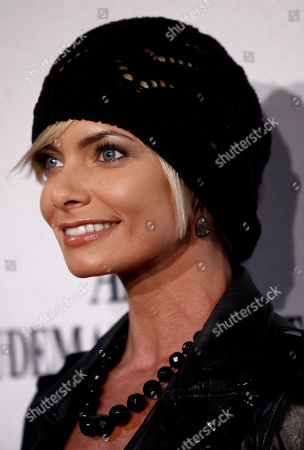 Stock Image of Jamie Pressly Actress Jamie Pressly arrives for the Opening Night Gala for KOOZA, the big top touring show from Cirque du Soleil, in Santa Monica, Calif. on