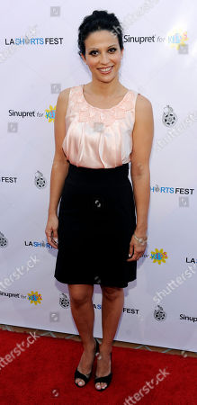 Navi Rawat Actress Navi Rawat arrives at the opening night of the LA Shorts Fest '09 in West Hollywood, Calif