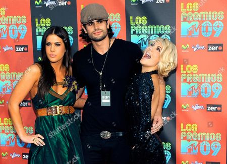 Editorial picture of Los Premios MTV 2009 Arrivals, Universal City, USA