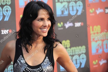 Editorial image of Los Premios MTV 2009 Arrivals, Universal City, USA
