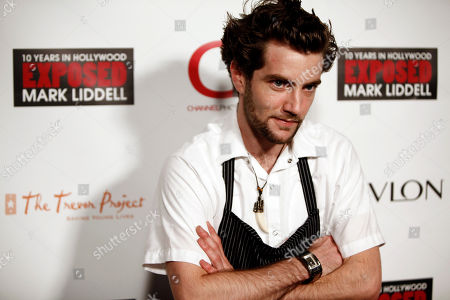 """Marcel Vigneron Chef Marcel Vigneron arrives at the book party for Mark Liddell's """"EXPOSED: 10 Years in Hollywood"""" in Los Angeles on"""