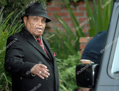 Joe Jackson Michael Jackson's father Joe Jackson leaves the family residence in the Encino section of Los Angeles for his son's funeral on . Jackson is scheduled to be interred in the Great Mausoleum, where he will be joining Hollywood legends such as Clark Gable, Jean Harlow and W.C. Fields