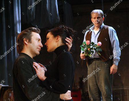 Ronan Vibert as Astrov, Rachael Stirling as Yelena and Colin Stinton as Vanya