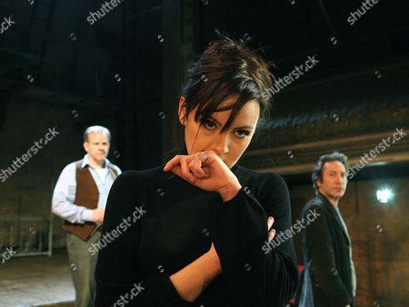 Colin Stinton as Vanya, Rachael Stirling as Yelena and Ronan Vibert as Astrov