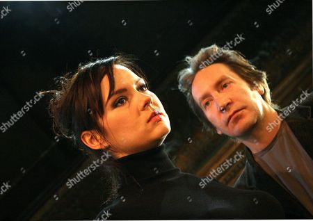 Rachael Stirling as Yelena and Ronan Vibert as Astrov