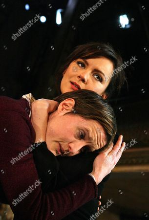 Catherine Cusack as Sonya and Rachael Stirling as Yelena